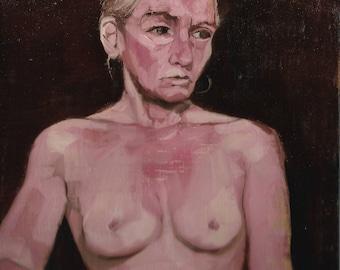 Gabrielle Figure Painting