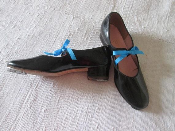 Black dance shoes with taps Capezio, Staccato / ta