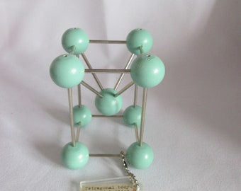 Molecular Tetragonal Body Centered Lattice structure / Geneva
