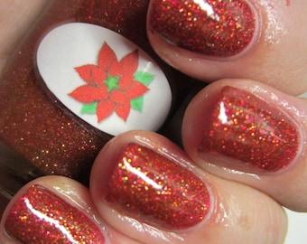 Poinsettia Nail Polish