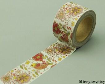 Filofax Washi Tape Deco Tape Japanese Washi Tape Gift Wrapping EM64161 Masking Tape