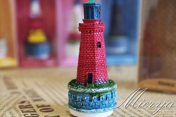 1 Piece Resin Castle Stamp - Rubber Stamp - Vintage Stamp - Style 5