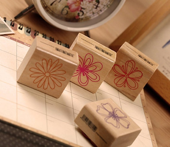 Style 08-EM62784 Deco Stamp Korean Diary Stamp Rubber Stamp Fashion Stamp
