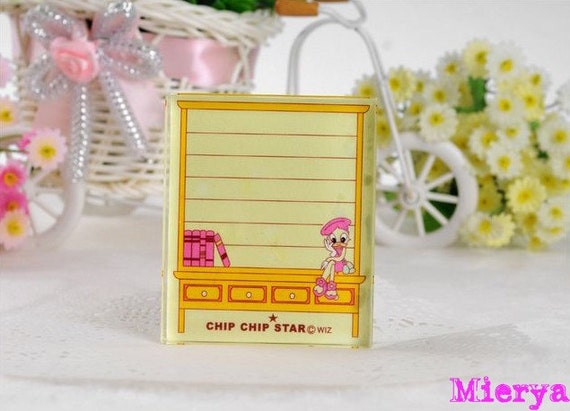 1 Piece High Quality Crystal Glass Stamp - Rubber Stamp - Diary Stamp - Zakka - Style 1