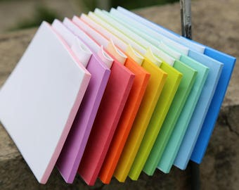 Peelable Colorful Sandwich Rubber Block - DIY Rubber Stamp - Stamp Carving Bolcks - 15cm x 10cm - 10 colors available - MR015