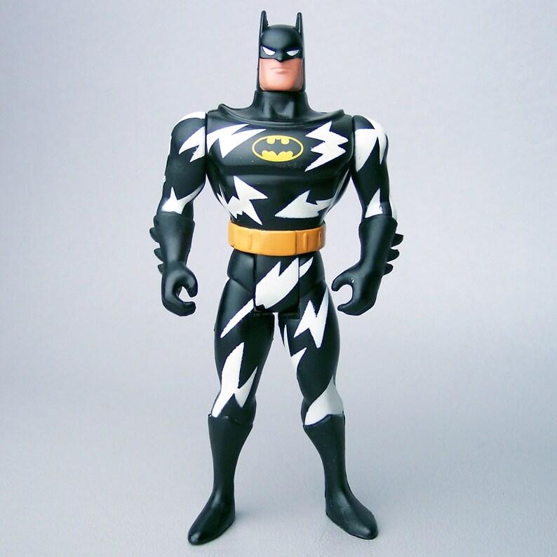1993 Cartoon Series Batman Lightning Strike Batman Figure C9 Near Mint
