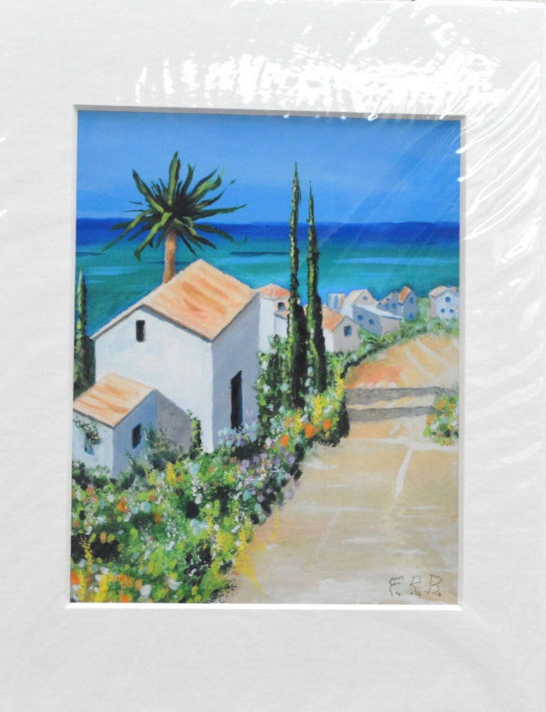 Morning in the Caribbean Giclee Print 11x14 100% of the image 0