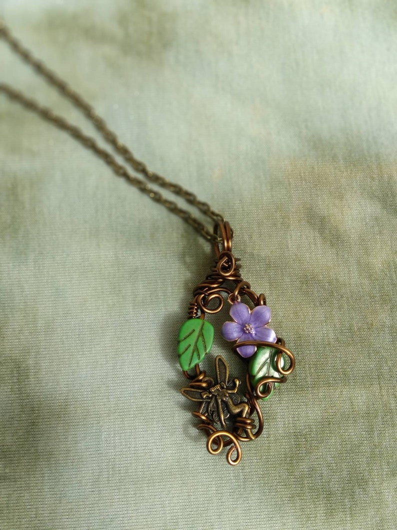 Woodland Forest Fairy Necklace