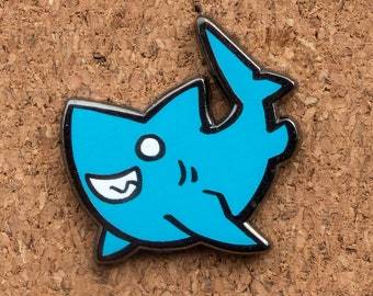 Cute Shark Enamel Pin