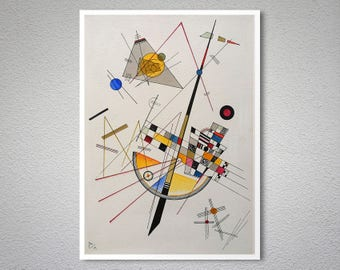 Picture With An Archer By Wassily Kandinsky Poster Paper Etsy