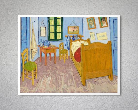 Fantastisch Van Goghs Schlafzimmer In Arles 1889 Von Vincent Van Gogh | Etsy