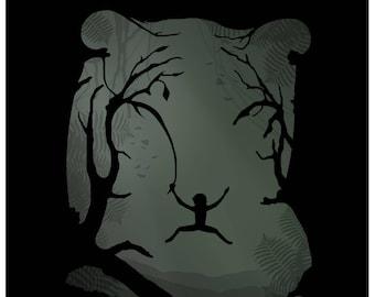 Disney's The Jungle Book Minimalist Poster