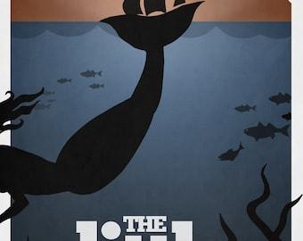 Disney's The Little Mermaid Minimalist Poster