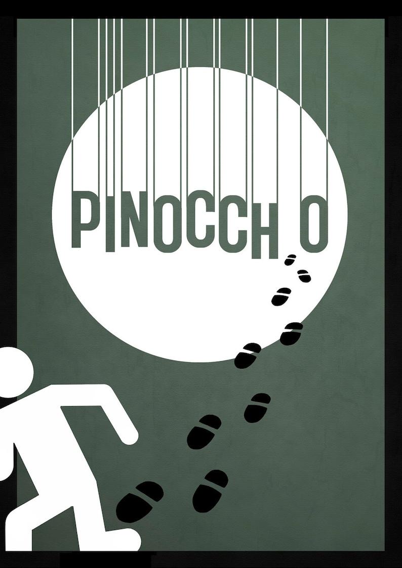Disney's Pinocchio Minimalist Poster image 0