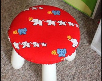 Mammut ikea padded stool cover ikea stool cover you pick etsy