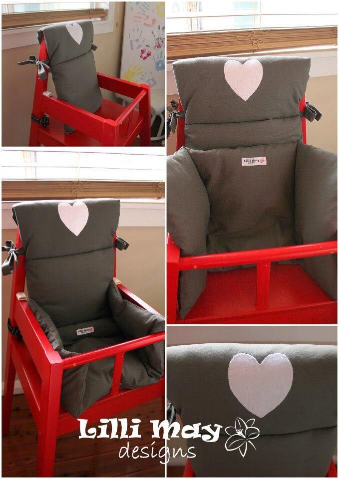 Hoge Houten Kinderstoel Ikea.Hoge Stoel Cover Kussens Pad Voor Baby Fit Ikea Schuld Of Etsy