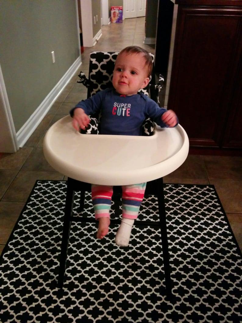 Zitstoel Voor Baby.Wijt Stoel Pad Kinderstoel Cover Kussen Pad Voor Baby Etsy