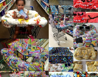 Trolley Cover/SUPER PADDED Shopping Trolley Cover//Shopping Cart Cover//Clothing Protector//You Pick The Fabric
