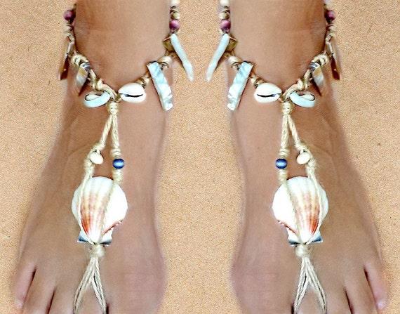 Women Boho Sea Shell Bead Anklet Bracelet Sandal Summer Beach Ankle Jewelry YK