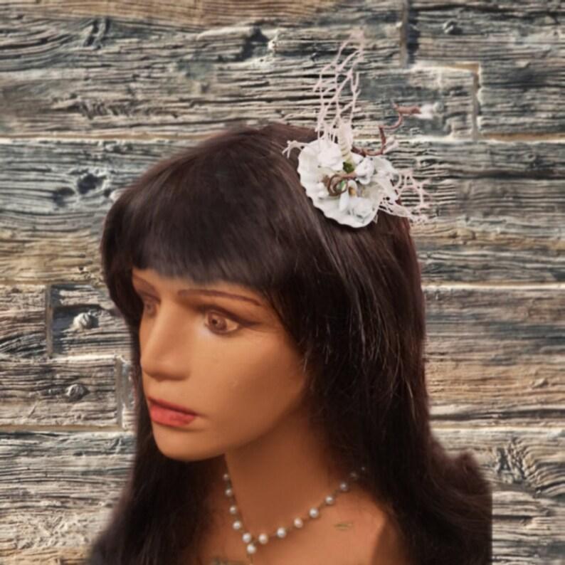 b48bd9e6 Beach wedding hair accessories Bridesmaid Fascinators | Etsy
