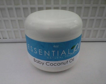 Coconut Oil for Babies and children, 4 oz. Head to toe oil, Natural Hair Product , Sensitive Skin, Skin Oil, Baby Oil, Baby Hair, Skin Care