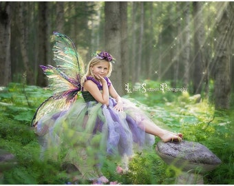 QUEEN MAB WINGS Large Fairy wings Any Colors