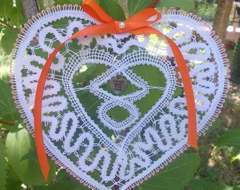 Bobbin Lace Pattern: To my beloved ones