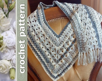 Crochet Pattern Scarf unisex: An Intersections Scarf