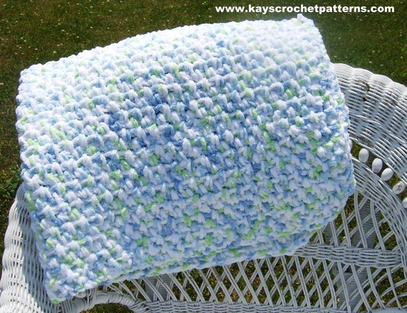 Quick & Easy Crochet Pattern Baby Evelyn Blanket