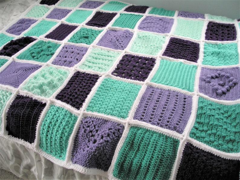 Beautiful Heirloom Crocheted Afghan