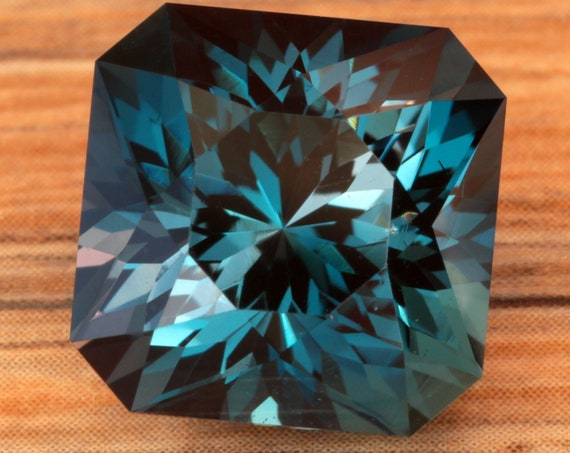 11.36ct Brazilian London Blue Topaz