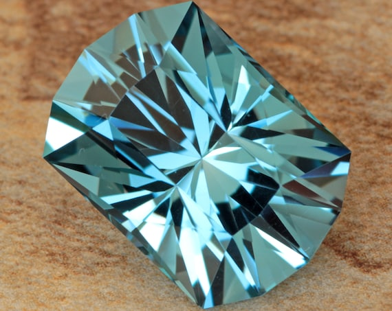 16.23ct Brazilian Tahoe Blue Topaz