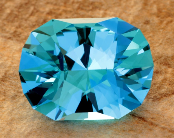 22.99ct Brazilian Electric Blue Topaz