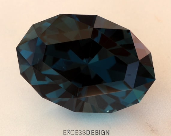 11.48ct Brazilian London Blue Topaz