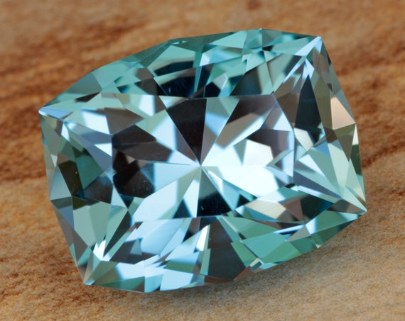 25.27ct Brazilian Tahoe Blue Topaz