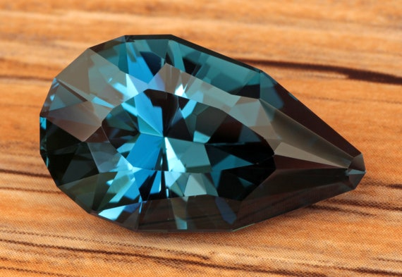 29.85 Carat Brazilian London Blue Topaz