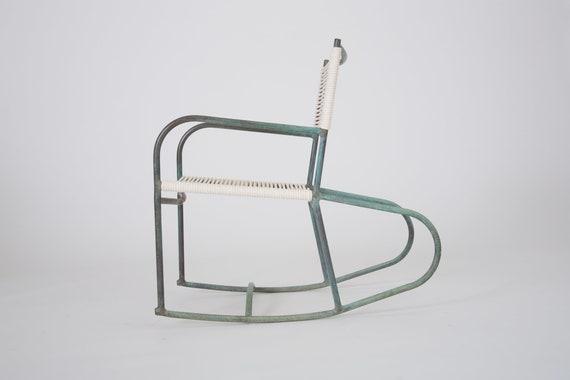 Stupendous Early Model Walter Lamb Patio Rocking Chair Inzonedesignstudio Interior Chair Design Inzonedesignstudiocom