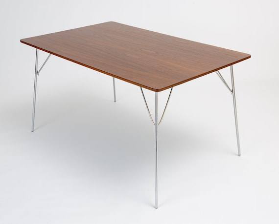 Awe Inspiring Dtm 10 Rectangular Dining Table By Ray Charles Eames For Herman Miller Pabps2019 Chair Design Images Pabps2019Com