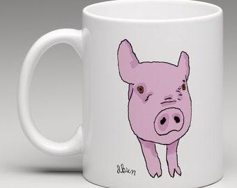 Pig mug (free delivery)