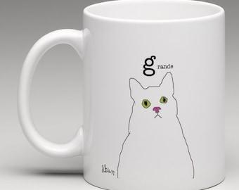 Cat mug (free delivery)