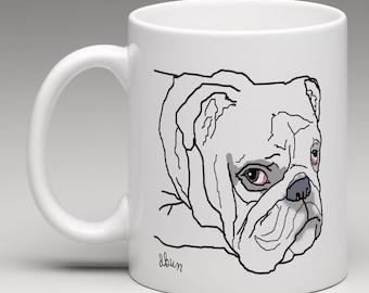 English Bulldog mug (free delivery)