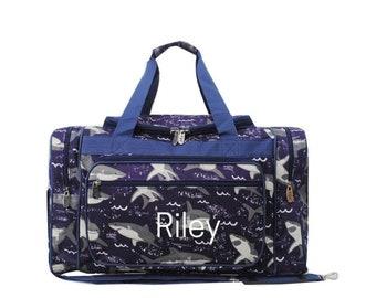 Travel Bag Monogram Weekender Bag Monogrammed Duffel Bag Carry On Bag Personalized Boys Overnight Bag