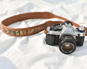 Leather Camera Strap,Valentines Gifts,Gifts for Her,Photography Gifts,Embroidered Strap,DSLR Strap, Personalized Camera Strap,Nikon Strap