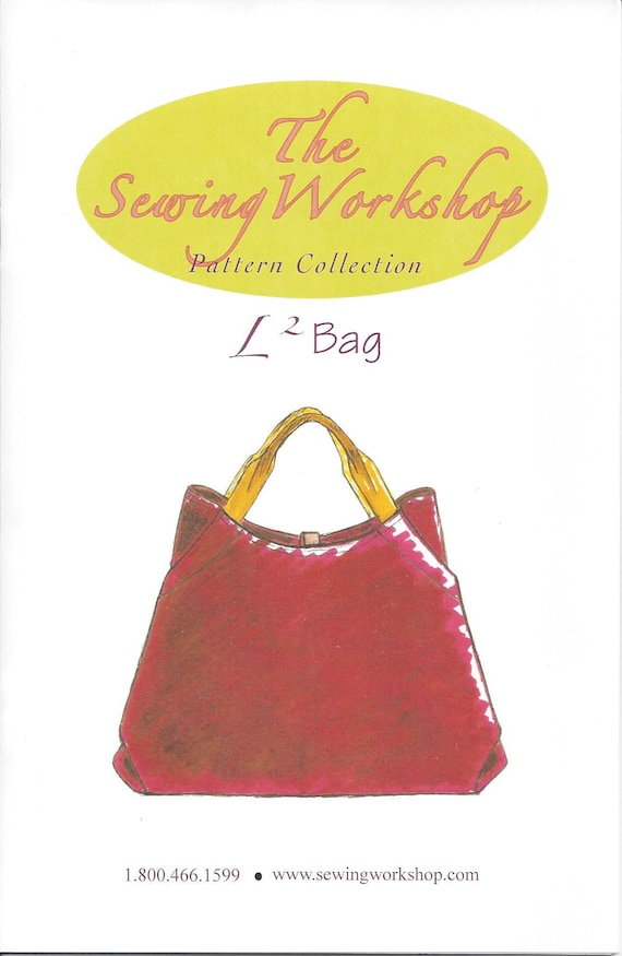 The Sewing Workshop Uncut L2 L Squared Bag Sewing Pattern Etsy