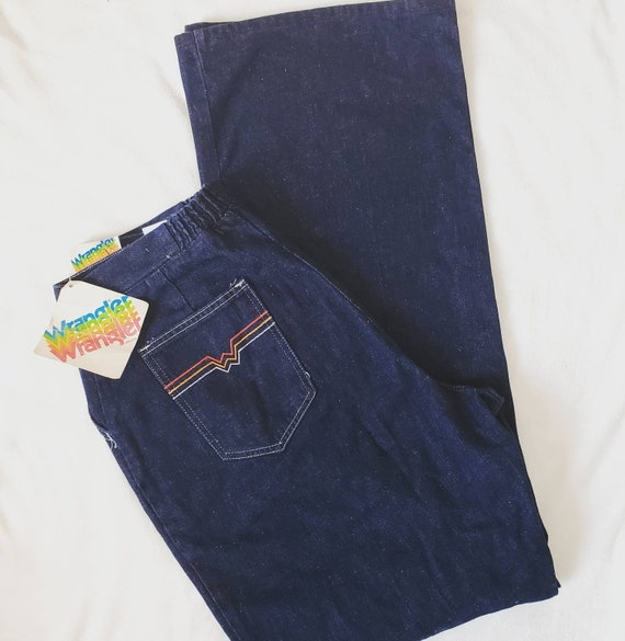 Vintage volup dark denim wrangler jeans