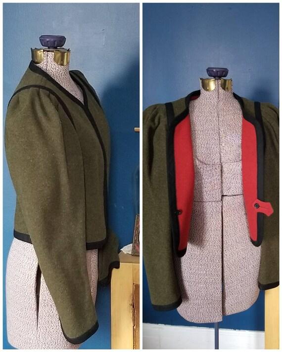 1960s Resi Hammerer jacket wool victorian style mi