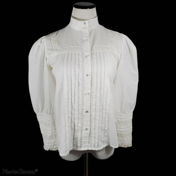 Vintage victorian revival blouse
