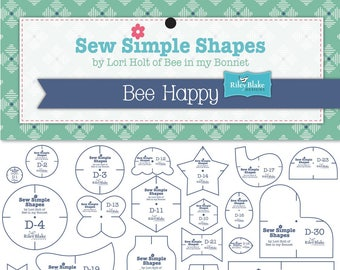 Bee Happy Sew Simple Shapes