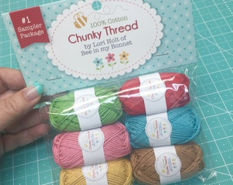 Chunky Thread Sampler Package #1