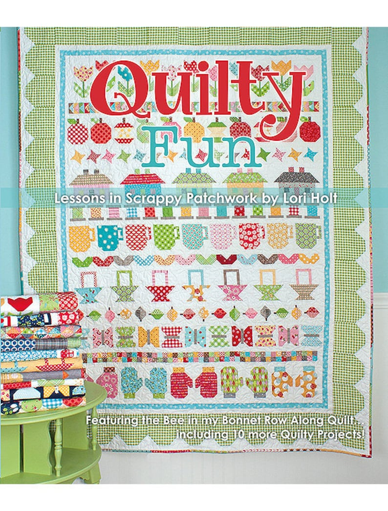 Quilty Fun Lessons in Scrappy Patchwork by Lori image 0